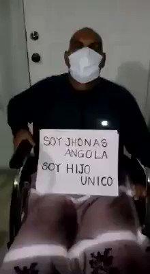 Por favor ayúdenos a jhonas Angola, difunde este mensaje dando RT, gracias!