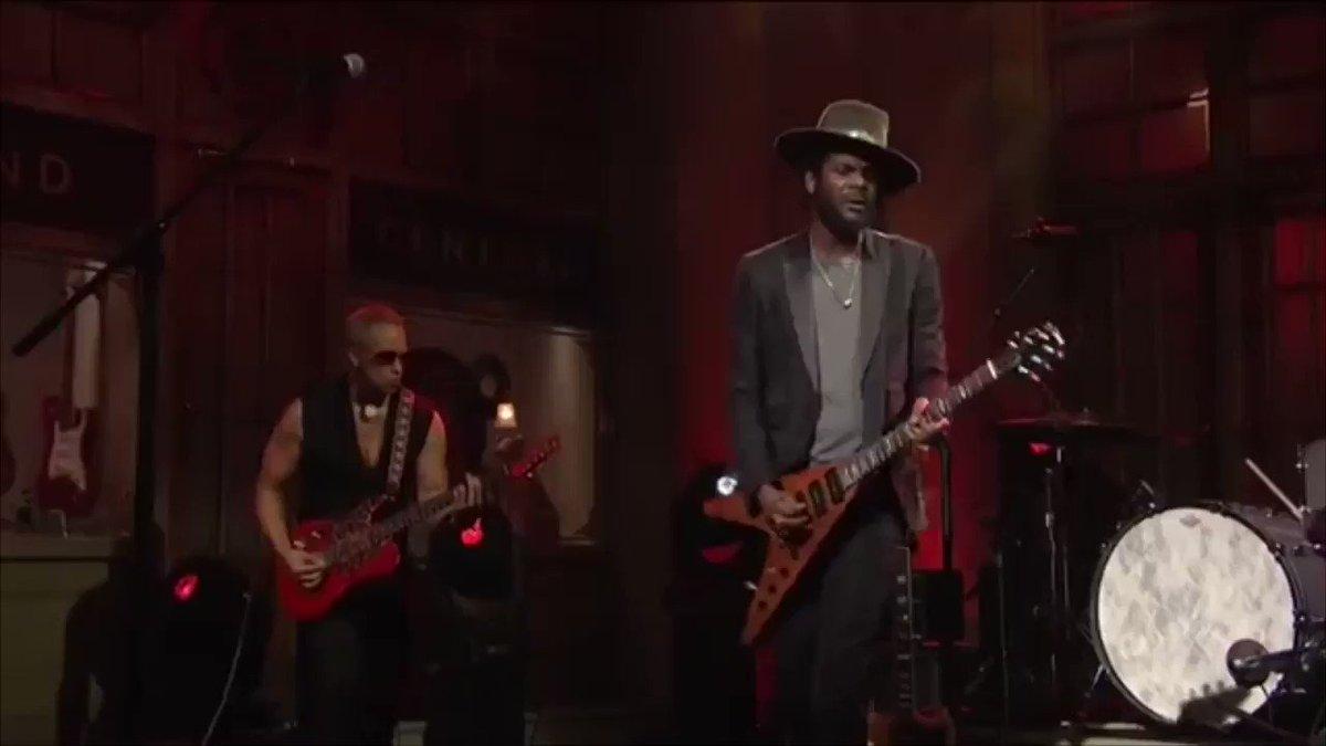 Gary Clark, Jr. killing it on Saturday Night Live!  @GaryClarkJr #SNL @wbr