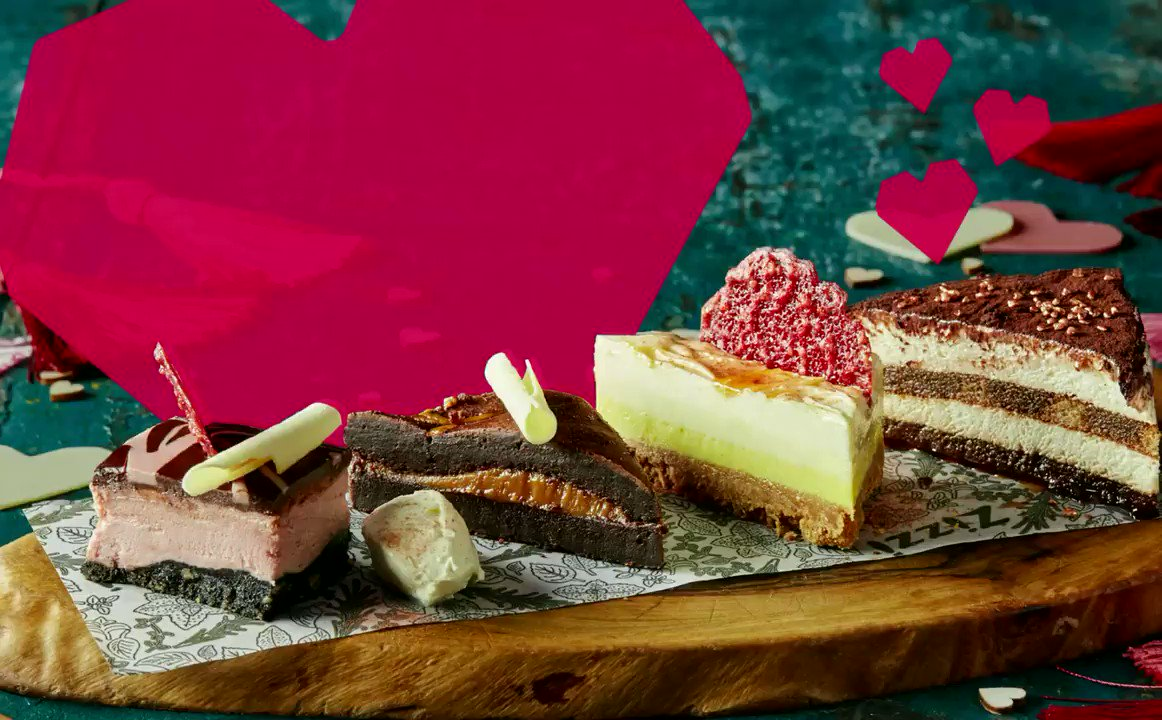 Keep the love going this #Valentine's weekend. Get a special dessert sharing board from @WeAreZizzi for just £9.95 – featuring a lemon and white chocolate mascarpone cheesecake, classic tiramisu, ruby chocolate cheesecake, and the infamous salted caramel chocolate brownie. ❤️