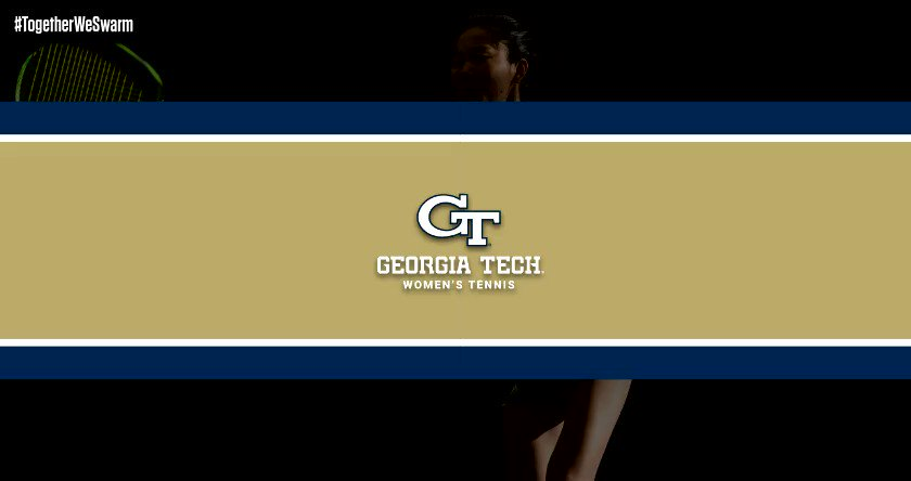 MATCH DAY! The Jackets are back in action at noon hosting No. 11 Northwestern at the Ken Byers Tennis Complex. #TogetherWeSwarm