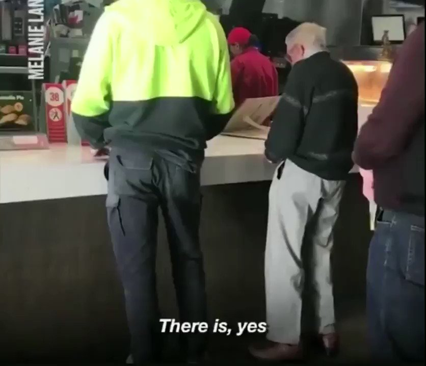 This will make your heart ❤️smile ~elderly man comes up short ~construction worker notices & buys his lunch for him