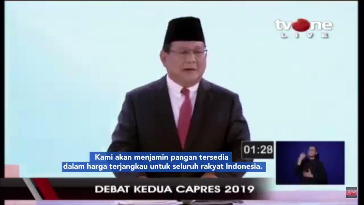 Kita akan mengamankan semua sumber-sumber ekonomi Indonesia & menjaga pundi2 bangsa Indonesia supaya kekayaan kita tidak mengalir ke luar negeri. Kami yakin Indonesia mampu berdiri di atas kaki kita sendiri. Indonesia harus menjadi bangsa pemenang, rakyat Indonesia harus menang!
