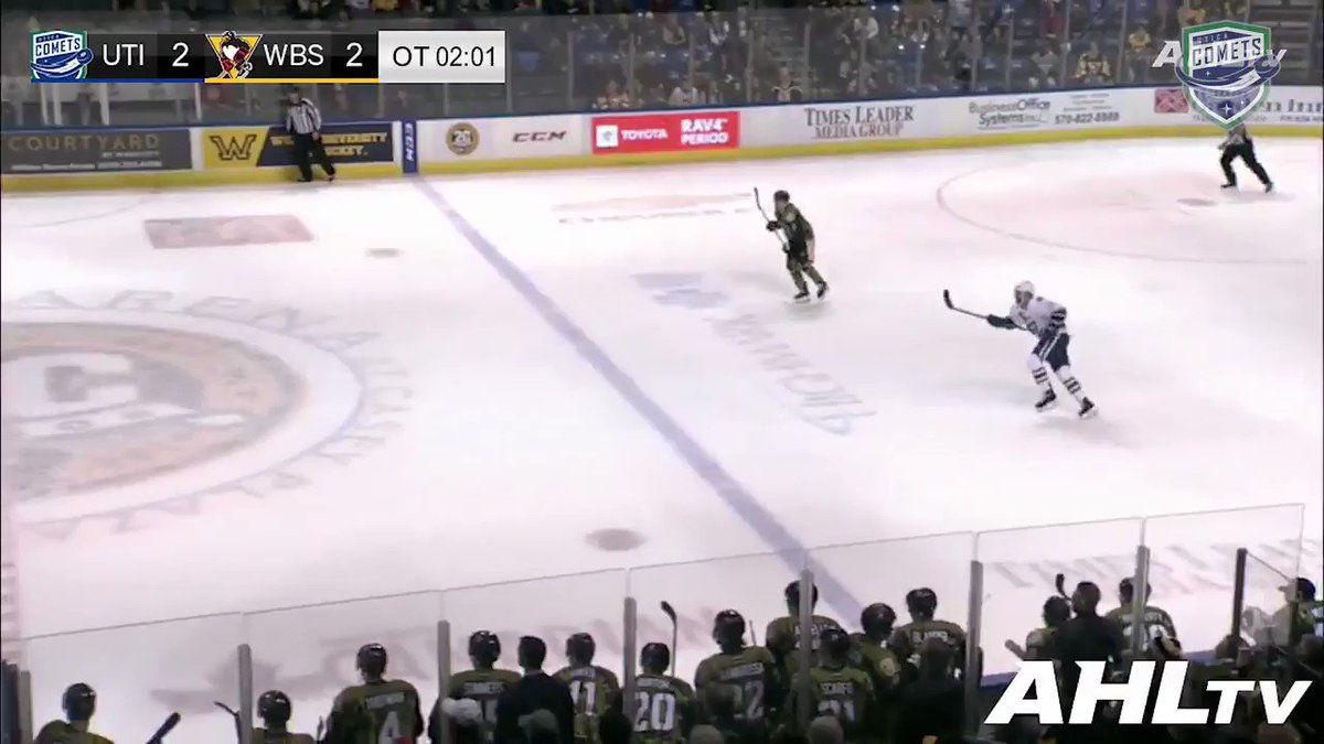Good morning. Here's @cdarcy19's game-winning goal from last night for your viewing pleasure while making breakfast.