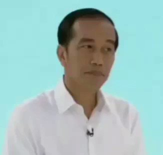 you're the only one I talk to. Me : #DebatPilpres2019