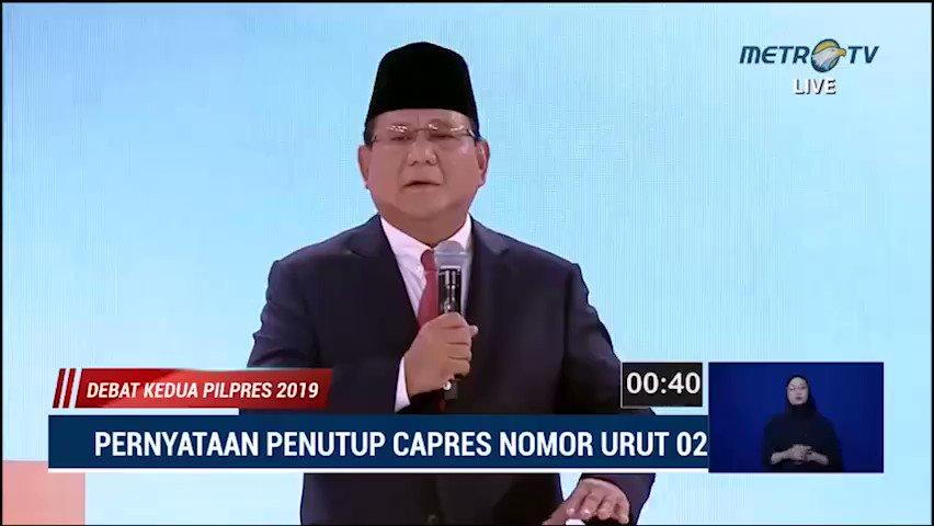 Soal Lahan di Kaltim dan Aceh, Prabowo: Daripada Dikelola Asing http://metrotvn.ws/5b2qd0rN