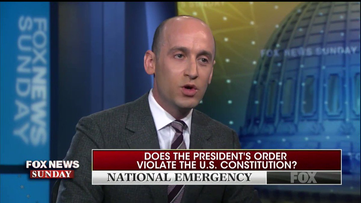 """Miller: """"You & I both know that Presidents for years have engaged in one military adventure after another...and we can't even deal with the criminal cartels operating on our border? These criminal organizations are destabilizing the Western hemisphere."""""""