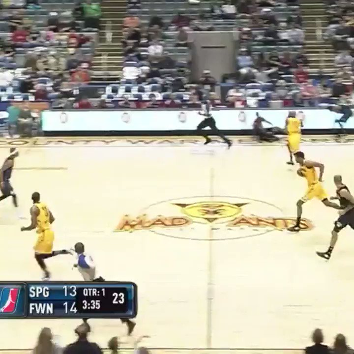 Before he suits up for #TeamGiannis in tonight's @NBAAllStar Game... look back at Khris Middleton's #NBAGLeague highlights with @TheMadAnts!