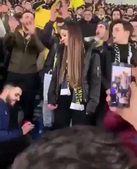 RT SabriReyiziniz: Çok doğru bir seçim yapmış kız. Son 10 yıldır Fenerbahçe'yi bırakmayan, seni asla yarı yolda bırakmaz.