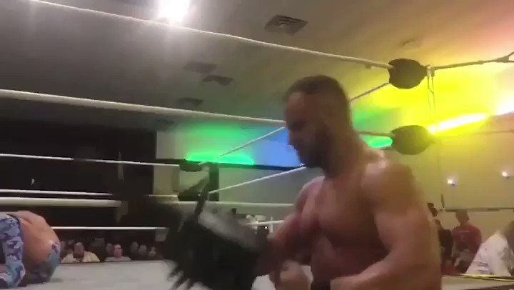 Joey Ryan wins a Lightsaber Duel with his Penis against @buckneverstops at @WrestlingMagic.