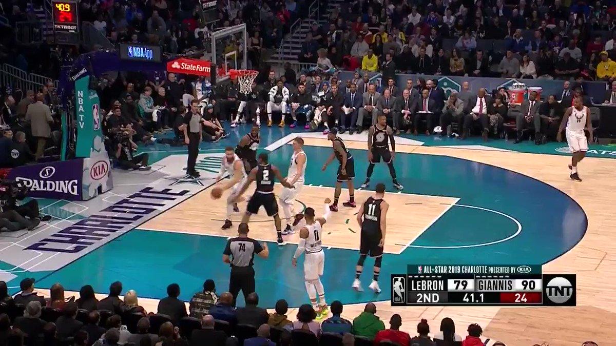 Count it. 👌 #RussellWestbrook  #NBAAllStar