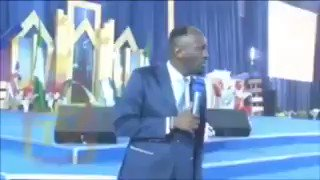 """""""The man that will steal your money is better than the man that will take your life"""" -  Apostle Suleiman   And you call this one an Apostle??? Again, he said the ''Lord'' told him to speak???  I cry for the Body of Christ."""