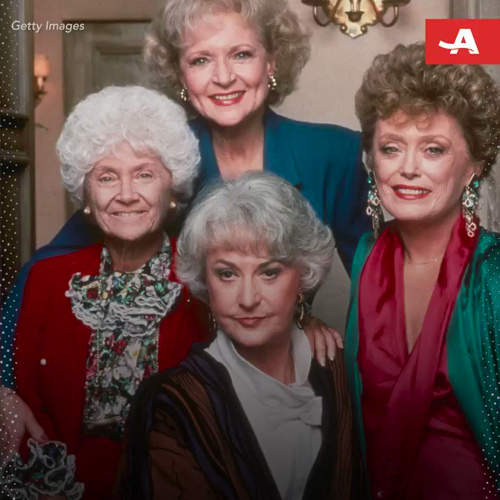 """What better way to address ageism than with 'The Golden Girls""""? #DisruptAging"""