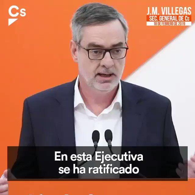 📽️ Hay que mandar a Sánchez a la oposición. Cs no va a pactar ni con Sánchez ni con el PSOE para el futuro Gobierno de España. Vamos a unir a esa mayoría de españoles que cree que es el momento de abrir una nueva etapa.