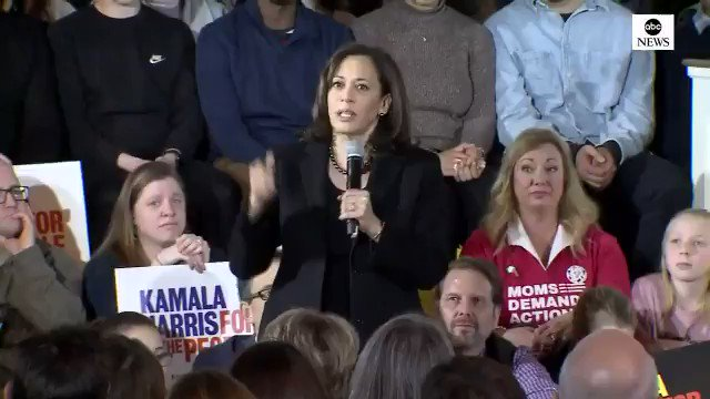 "Kamala Harris: ""We have failed to put the resources into our public education system and, instead, we are putting tons of money into a system of mass incarceration because we are not being smart about investing in the future of our country. Let's speak these truths."" Via ABC"