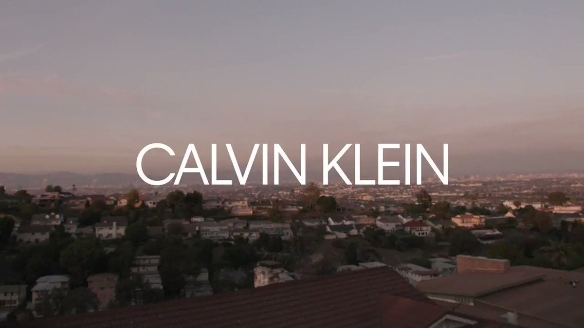 So excited about this campaign. Thank you @CalvinKlein and Glen Luchford. Our Now. #MyCalvins