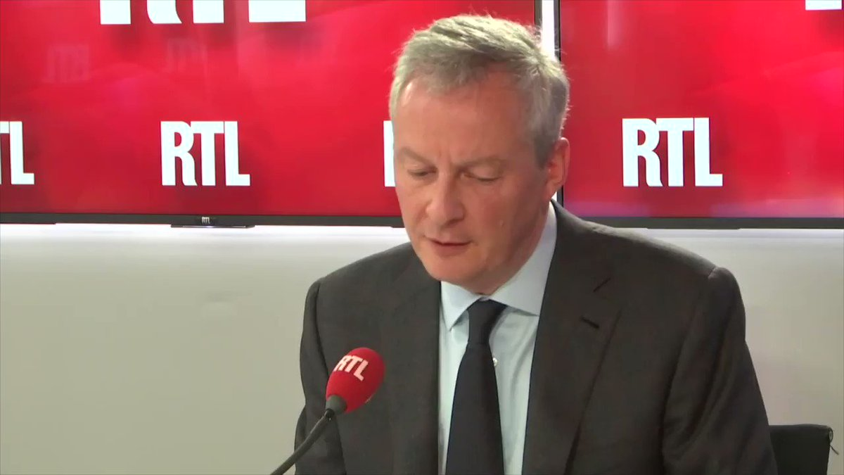 Bruno Le Maire's photo on #RTLMatin