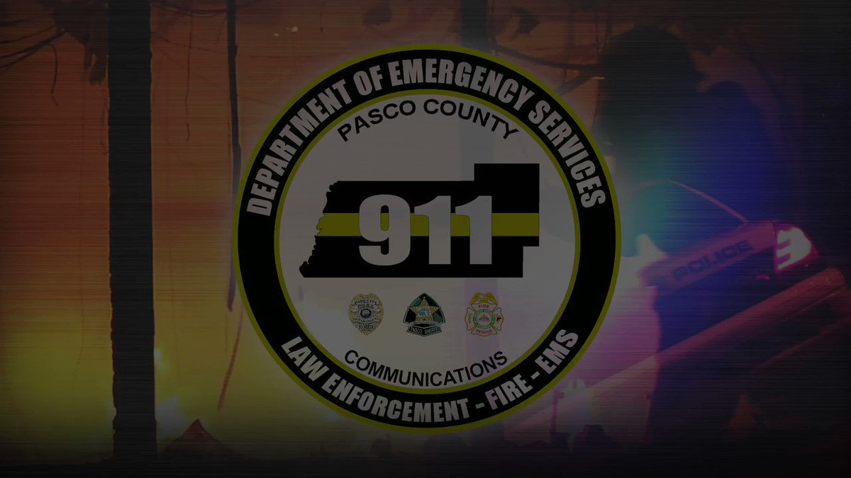 """Did you know #PascoCounty is among the first in Florida to offer innovative, new text-to-911 technology? This critical service provides assistance when it's unsafe or you're not able to talk. """"9-1-1: Call if you can, text if you can't."""" #PascoProud"""