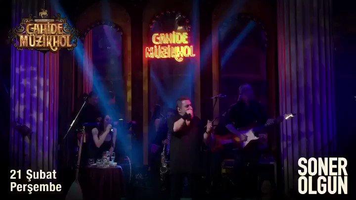 RT cahidemuzikhol: 'İyi Bayramlar' coşkusu devam ediyor...  Soner Olgun, 21 Şubat Perşembe akşamı en keyifli şarkılarıyla Cahide Müzikhol'de...  Rezervasyon ve Bilgi: 02122196530