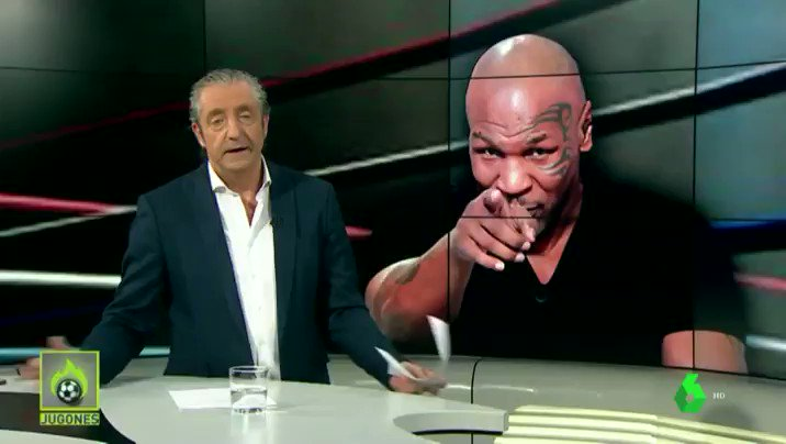 El Chiringuito TV's photo on Mike Tyson