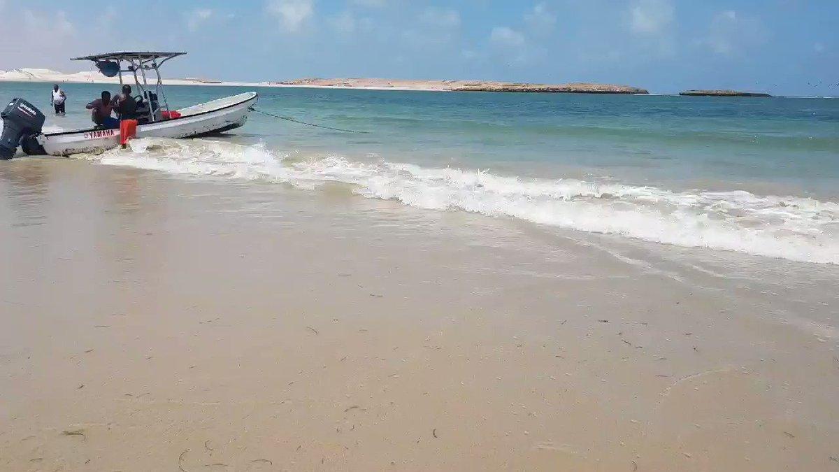 Blessed to be in #Kismayo and enjoying the beautiful white sandy beaches of this region in #somalia. #SomaliRising @HodanTV @HarunMaruf @Riovice @SomaliPM  @SNTVSomalia
