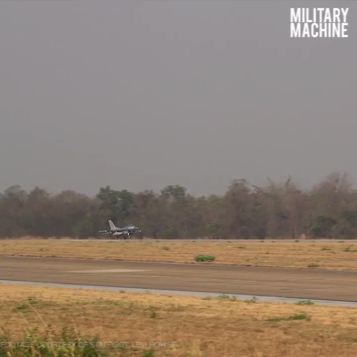 F-16 Fighting Falcons with 35th Fighter Squadron during Exercise Cobra Gold 2019 at Korat Royal Thai Air Force Base, Thailand.  Check out the full video, and subscribe on YouTube! Click here: https://youtu.be/ppykNTrXjCE  #F16 #AirForce #USAF #Aviation #MilitaryMachine