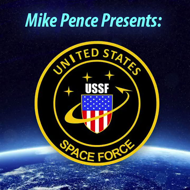 BREAKING: Trump has directed Mike Pence to begin choreographing America's new #SpaceForce.