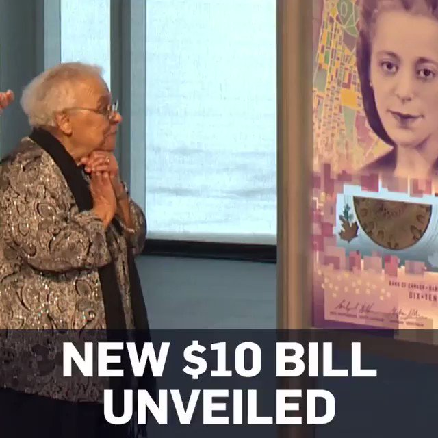 This year #Canada unveiled a new $10 bill honoring #ViolaDesmond, a successful black businesswoman and entrepreneur who challenged segregation in Nova Scotia in the 40s.  Desmond is the 1st black person and 1st non-royal woman on a Canadian bank note.  🇨🇦#BlackHistoryMonth