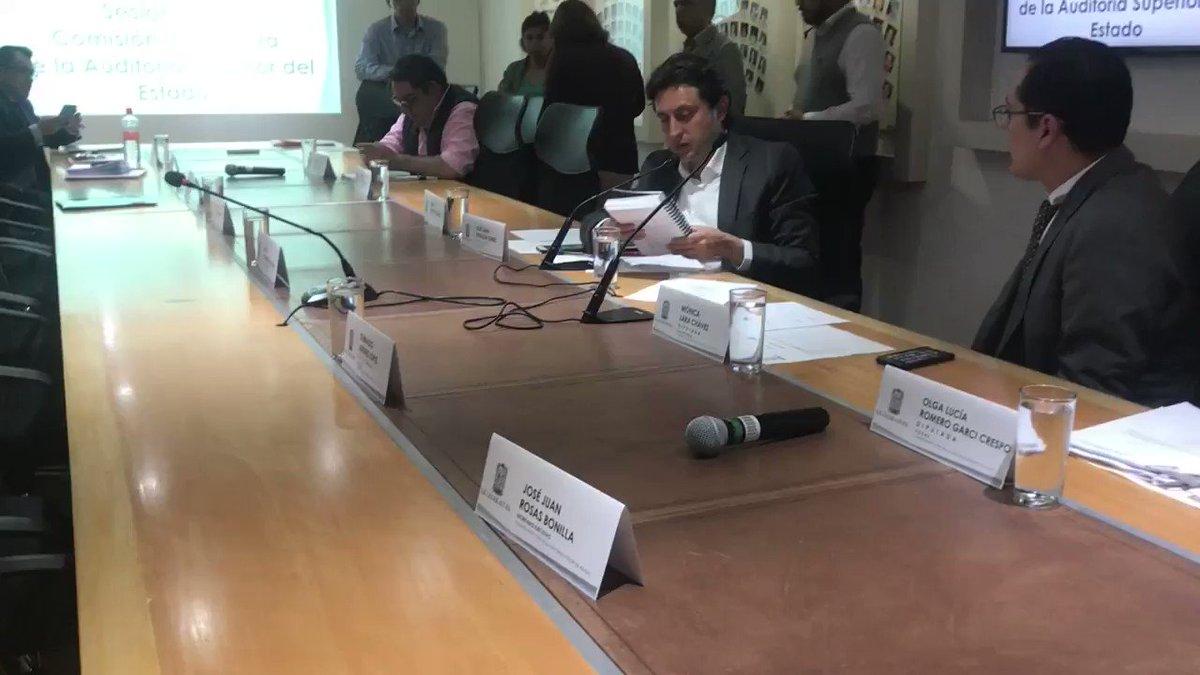 Los diputados @MonicaLChavez, @moninaromerogc y Miguel Trujillo de Ita presentaron justificante; el priísta @Javier_CasiqueZ, el panista @oswaldojimenezl y el morenista @MaurerEmilio no informaron de su ausencia.    @e_consulta @periodistasoy