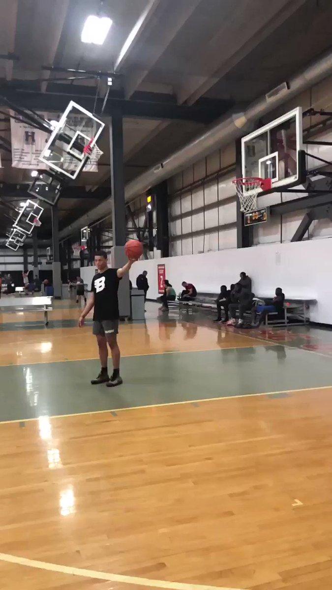 If he made this dunk... 🤯 (via @maxwellpearce)
