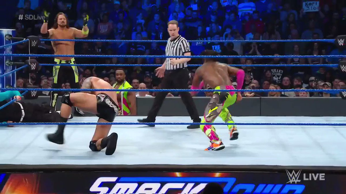 Kofi waited until the biggest push of his singles career to say this back to Orton. Amazing.