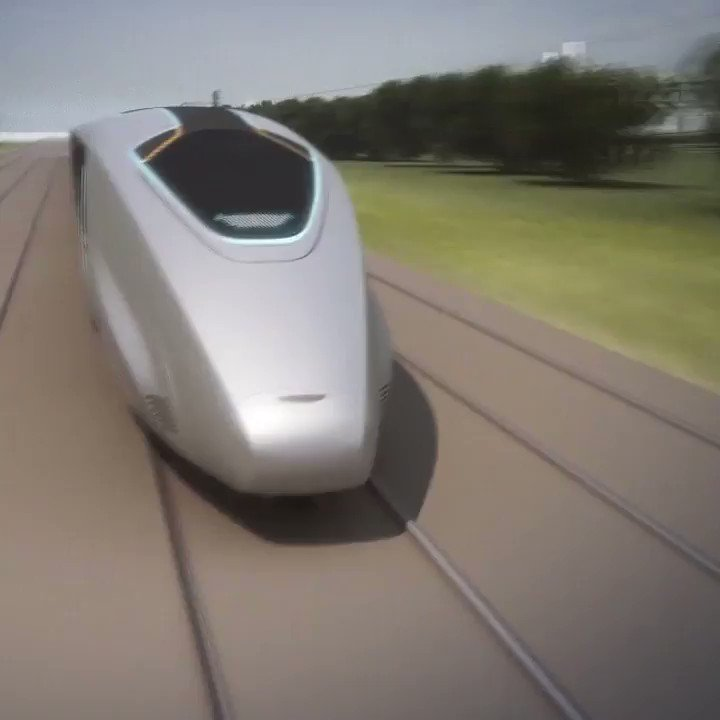Image for the Tweet beginning: Train of the Future; passengers