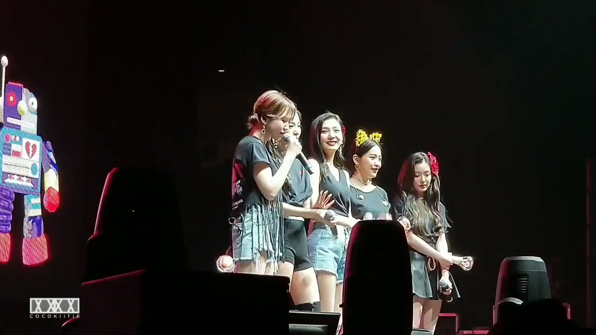 look at seulgi, joy and irene crying during wendy's ment... they all love her so much