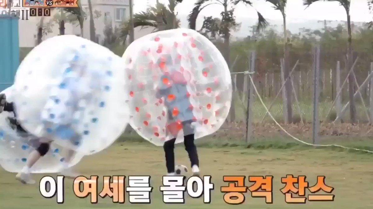 ไม่มีคำว่าน้องในการแข่งขัน แบคฮยอนชนจนคยองซูลอยไปเลย ไอ้บ้าเอ๊ย 55555555555  @weareoneEXO  #EXO #EXOLadder2_TH