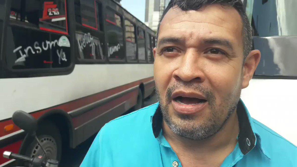 #Ahora Robert Hernández, transportista, asegura que el apoyo a la ayuda humanitaria se debe a que no aguantan más el chantaje del régimen