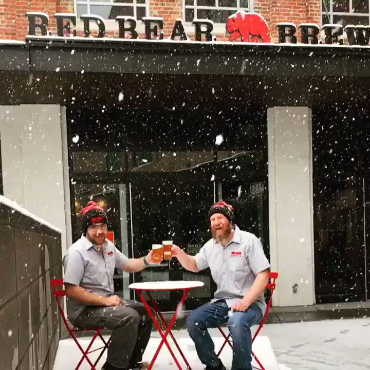 Red Bear Brewing's photo on Snow Day