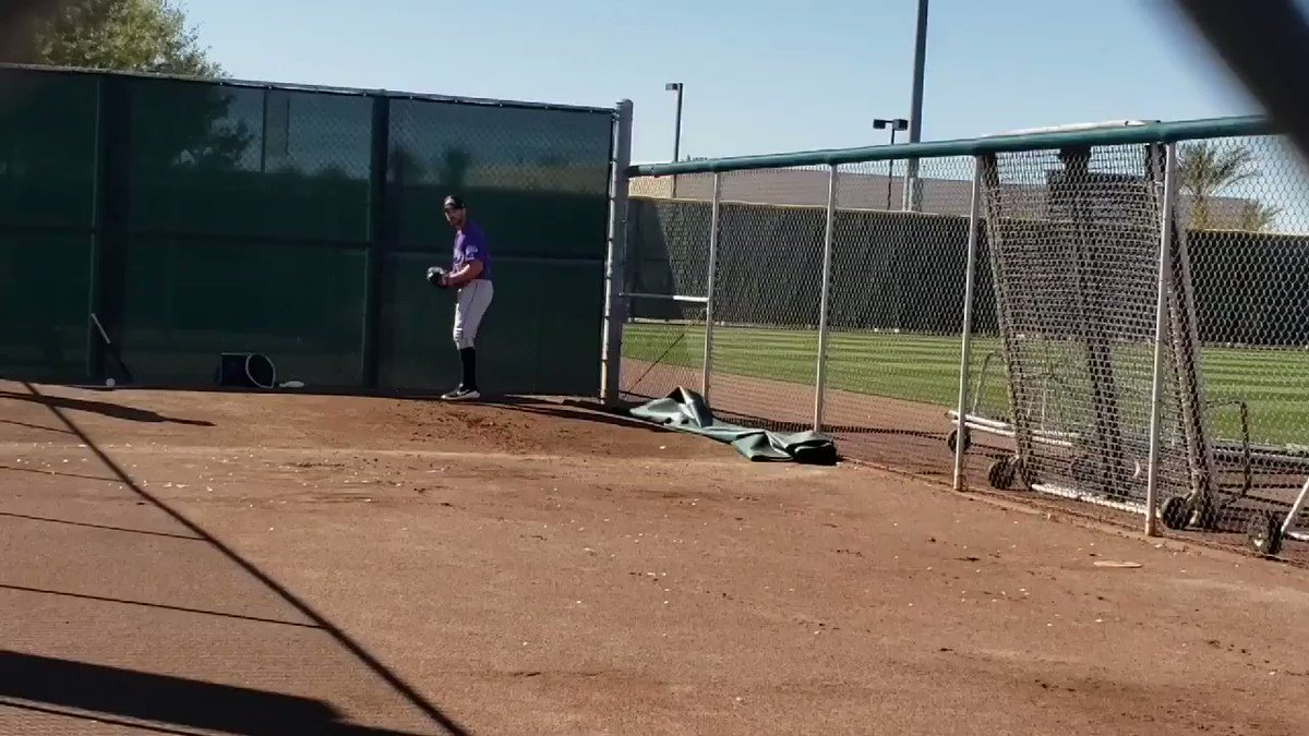 Garrett Hampson undergoes speed training | MLB.com