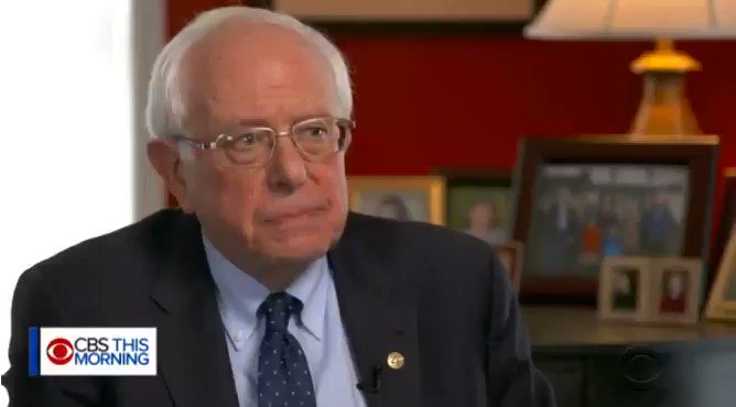 """""""Why is Howard Schultz on every television station? Why are you quoting Howard Schultz?""""  """"Because he's a billionaire.""""  @SenSanders sums up how media reflects the power of money"""