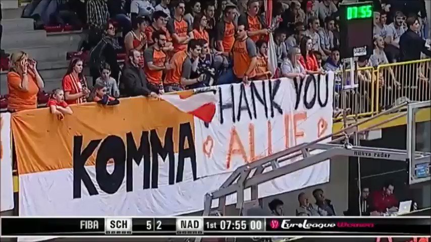 🧡The love from FAMILA fans.🧡  #AllieQuigley