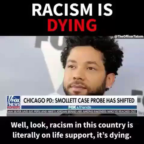 """""""Racism is dying. But The left seem to want to revive it any chance they get.""""  """"This man had to Pay to  create it """" #ThursdayThoughts   #Blexit #Flashbackfriday #SaturdayMorning #SundayThoughts #MorningJoe  #FakeOutrage #SmollettHoax #JussieSmollet"""