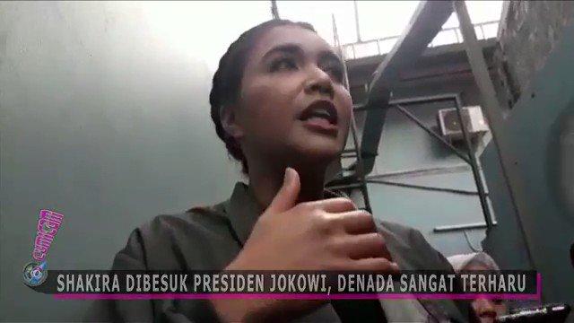 """Setelah Jenguk Ani Yudhoyono, Jokowi juga Jenguk Anak Denada  Kpd Ibu Ani, Jokowi berucap: """"Kami & seluruh masyarakat Indonesia mendoakan utk kesembuhan Ibu,""""  Kpd Shakira, Jokowi Bilang: """"Shakira Cepat Sembuh Ya, Biar Nanti Bpk Ajak Ke Istana Bogor utk Lihat Rusa #01JokowiLagi"""