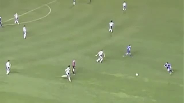 It's 22 years to the day since Roberto Carlos did this vs Tenerife. Was it a shot or was it a cross? Fuck knows. But he's got absolutely no business scoring from there. No business at all.