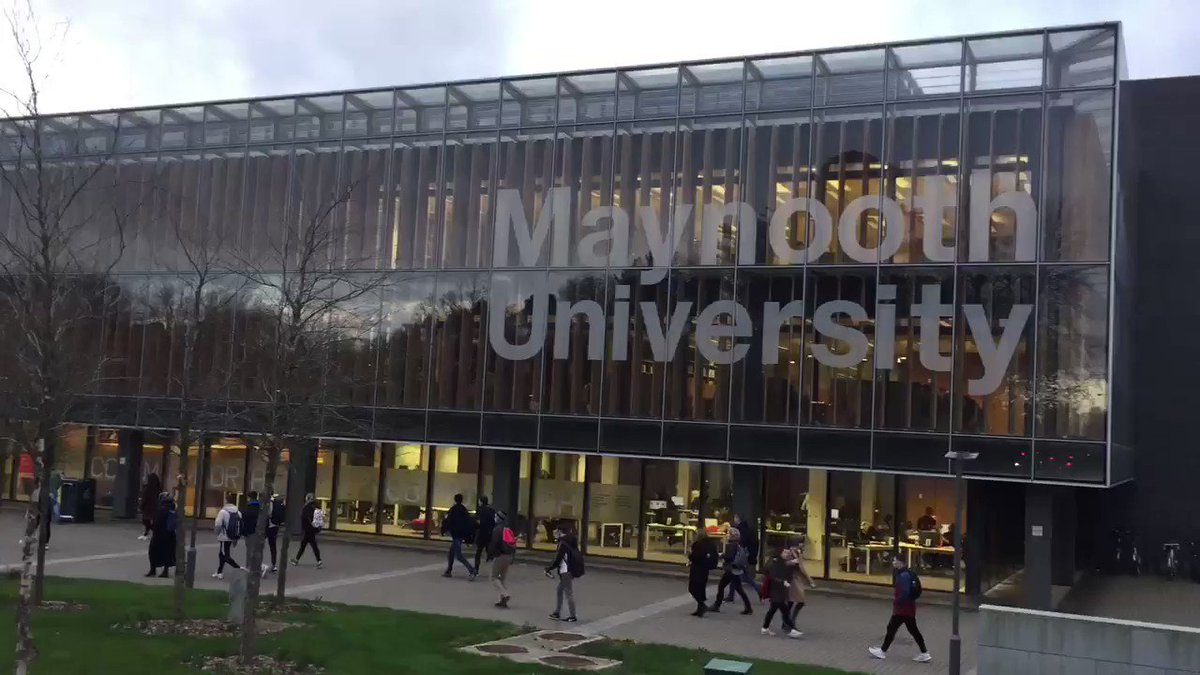 Great stretch in the evening now! #MaynoothUni