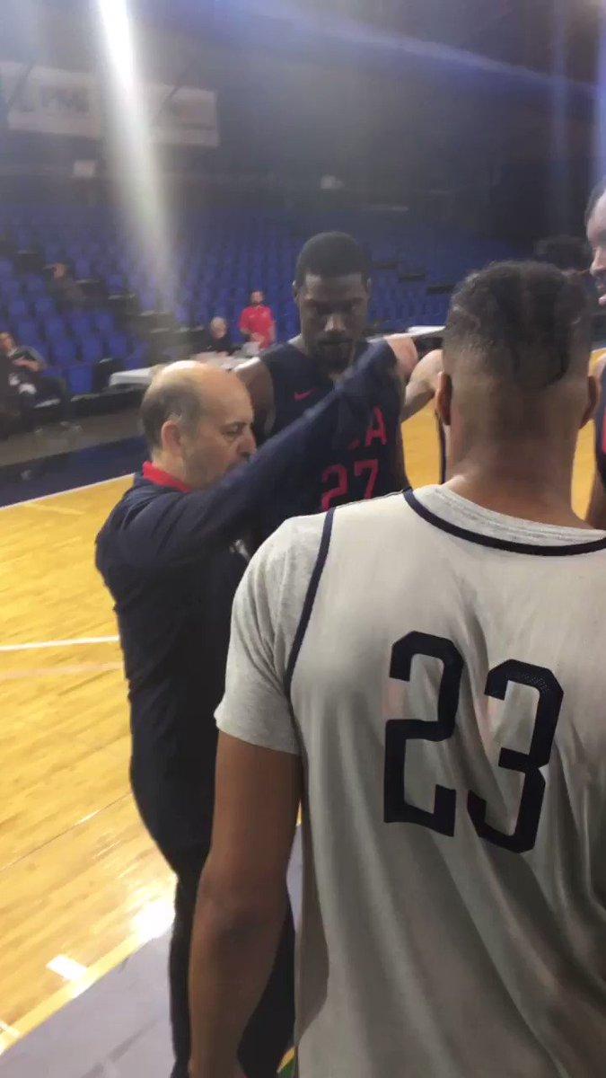 """🗣 """"🇺🇸 on 👌""""  @USABasketball ✖️ #NBAGLeague"""