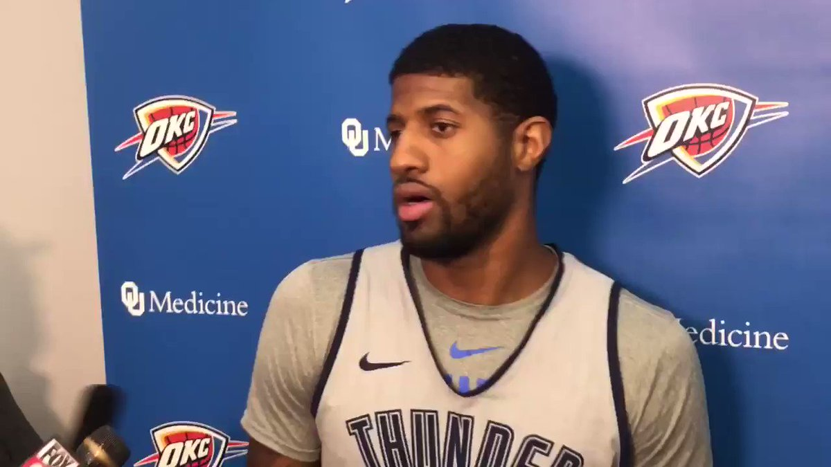 049705d53922e VIDEO: Paul George on Zion Williamson?s injury and situation with his  shoes, says he talked with Nike to find out what went wrong:  https://t.co/pJ3N6CEdMj