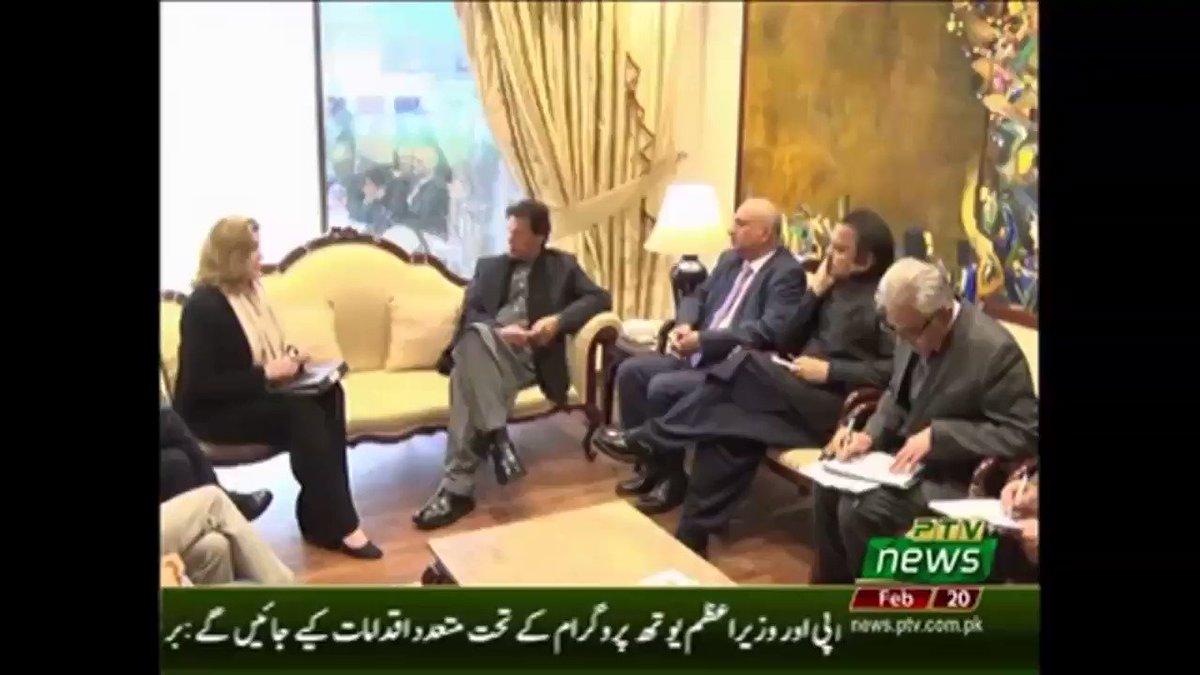 United Kingdom's Secretary for International Development @PennyMordaunt met Pakistan's Prime Minister @ImranKhanPTI to discuss enhancing UK - Pakistan development cooperation. #UK #Development #Pakistan #EmergingPakistan