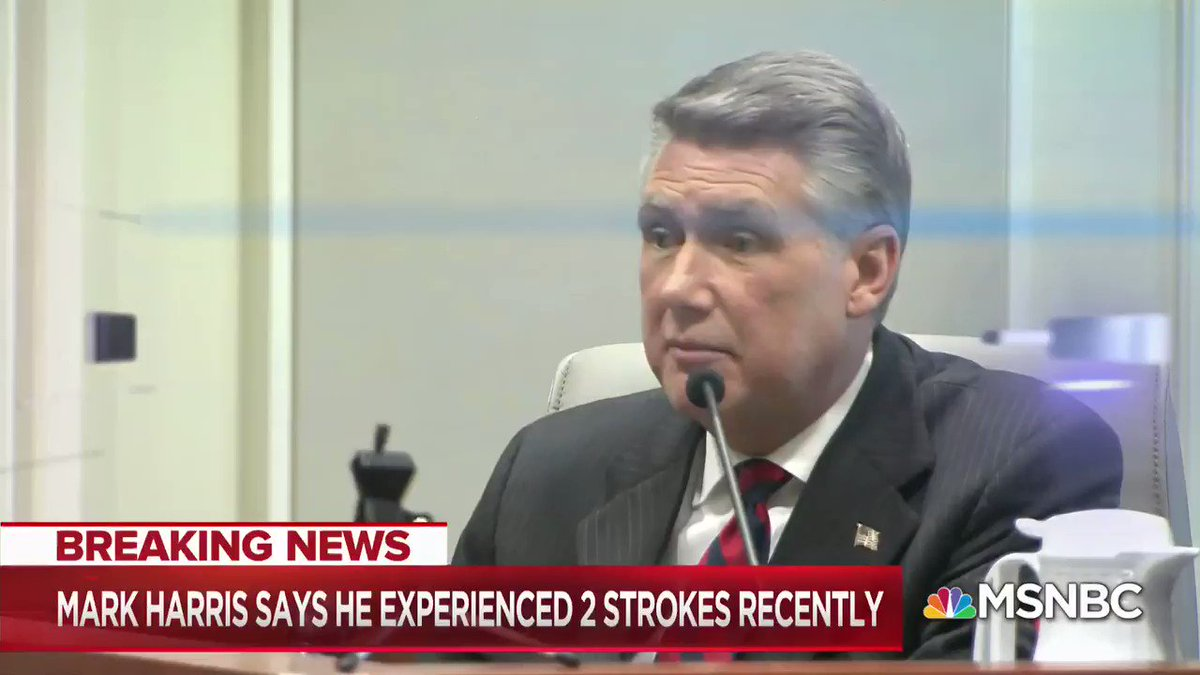 """BREAKING: Mark Harris drops fight to become #NC9 congressman amid GOP election fraud hearing.  """"I believe a new election should be called. It's become clear to me the public's confidence... has been undermined.""""  @KatyTurNBC & I literally chased him Tuesday asking that question."""