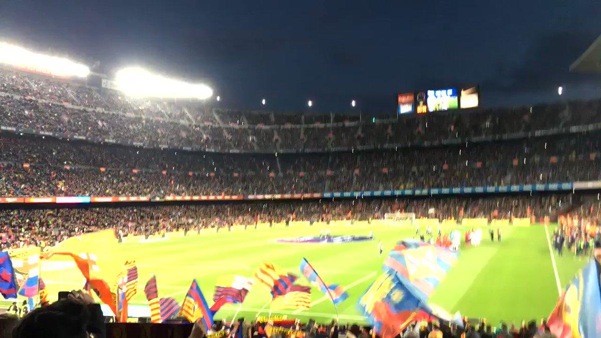02/02/19 Barça vs Valencia, first trip to the Camp Nou 🔵🔴