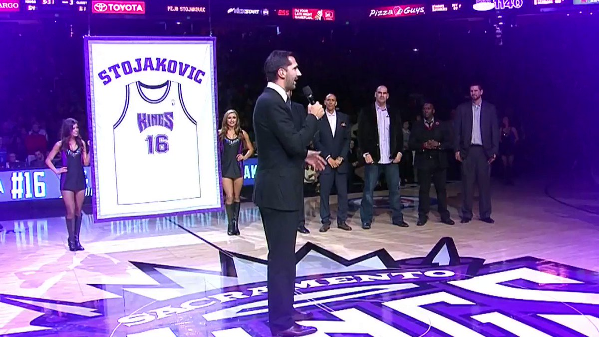 🚨 New Kings Central Alert 🚨  @kayte_c sits down with @SacramentoKings legend @PejaStojakovic to discuss his legacy with the team.   Tonight after Kings Postgame Live on NBC Sports California.
