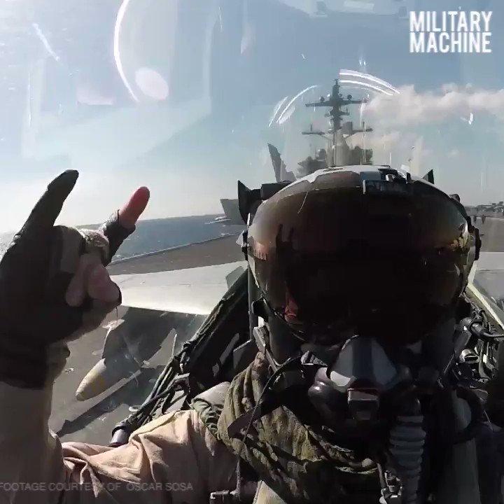 Absolute intensity! F/A-18 Hornets launch and land on the flight deck of the aircraft carrier USS George H.W. Bush. . . . #SuperHornet #USNavy #USSGeorgeHWBush #Launch #Jet #Aviation #Pilot #AviationLife #PilotLife #Navy #Veterans #USA #USMilitary #MilitaryMachine