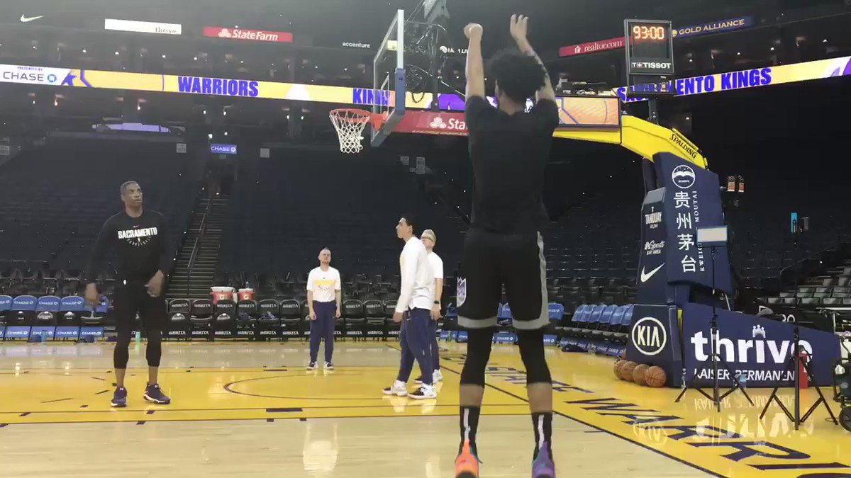First King out at Oracle... @MB3FIVE...  #SacramentoProud